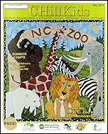 CHillKids May 2014 NC Zoo cover by Elaine O'Neil