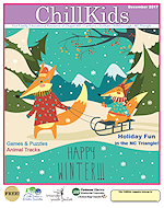 Chill Kids Family Magazine December 2017