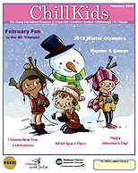 Chill Kids Family Magazine February 2018