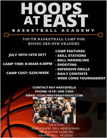 Hoops at East Basketball Camp