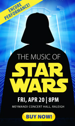 North Carolina Symphony Star Wars John Williams